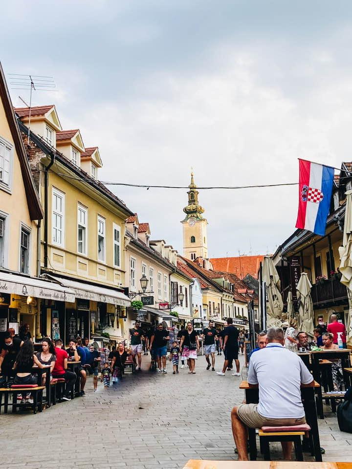 Two Days in Zagreb,Croatia